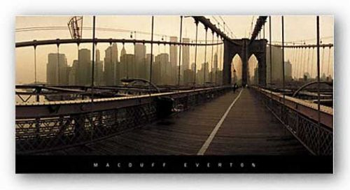 Brooklyn Bridge, New York by Macduff Everton