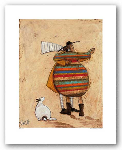 Dancing Cheek to Cheeky by Sam Toft
