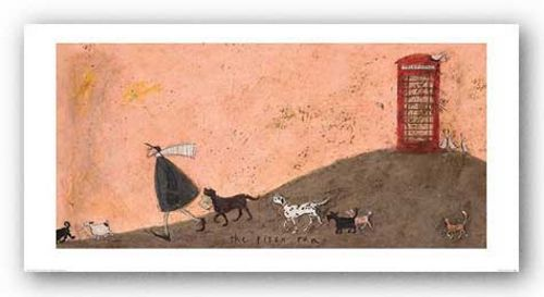 The Pizza Run by Sam Toft