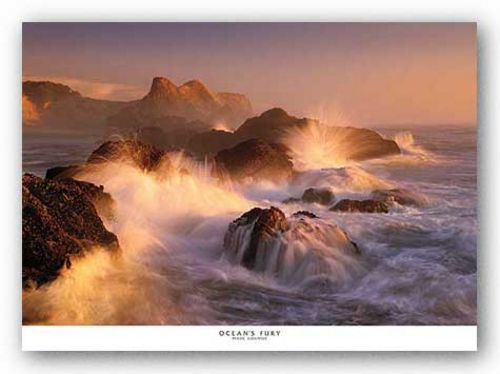 Ocean's Fury by Marc Adamus
