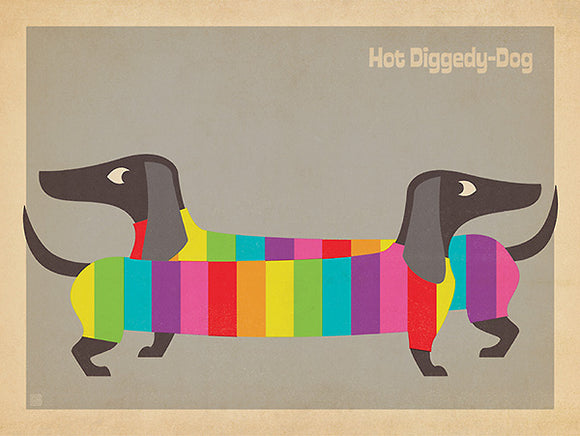 Mod Rainbow Dogs by Anderson Design Group
