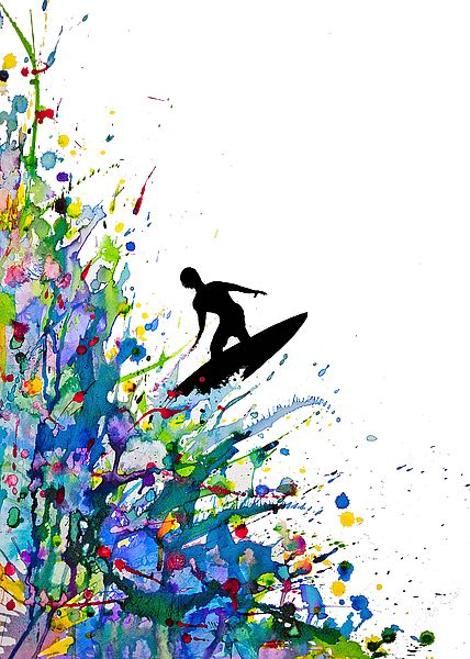 A Pollock's Point Break by Marc Allante