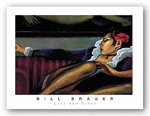 Leda and Venus by Bill Brauer
