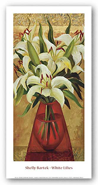 White Lillies by Shelly Bartek