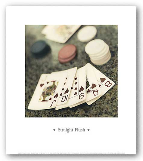 Straight Flush by Alan Blaustein