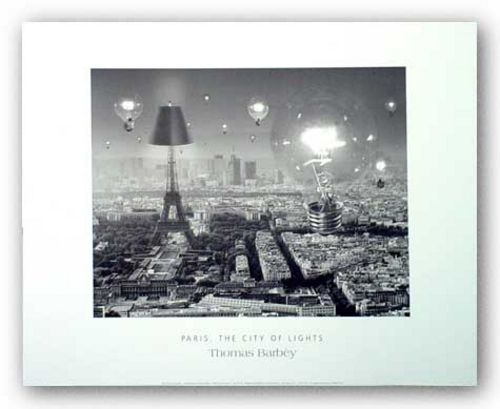 Paris, The City of Lights by Thomas Barbey