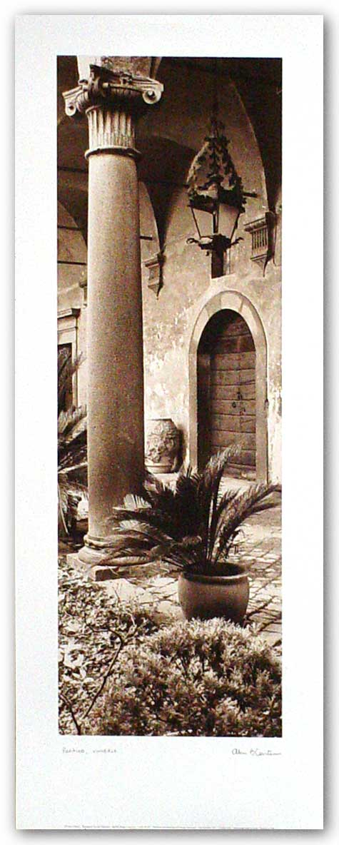 Portico, Umbria by Alan Blaustein