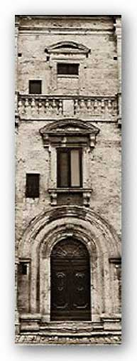 La Porta Via, Multepulciano - Museum Wrap Canvas by Alan Blaustein