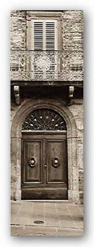 La Porta Via, Todi - Museum Wrap Canvas by Alan Blaustein