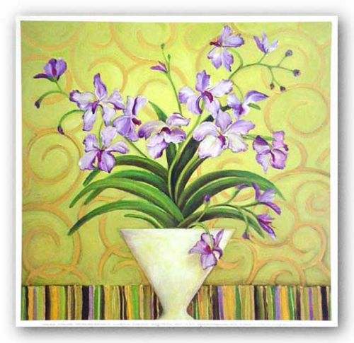 Purple Spring by Shelly Bartek