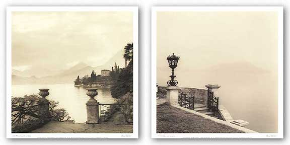 Tremezzo and Villa Monastero, Lago di Como Set by Alan Blaustein