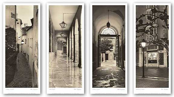 Espana Set (Four Prints) by Alan Blaustein