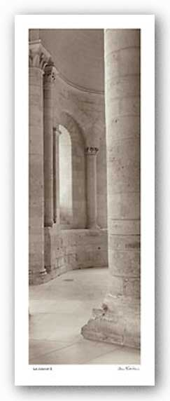Les Colonnes I by Alan Blaustein