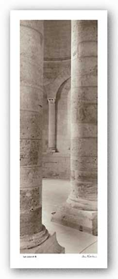 Les Colonnes II by Alan Blaustein