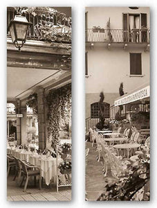 Gelateria, Varenna and Caffe, Bellagio Set by Alan Blaustein