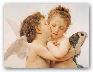 The First Kiss by William-Adolphe Bouguereau