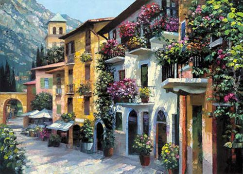 Village Hideaway by Howard Behrens