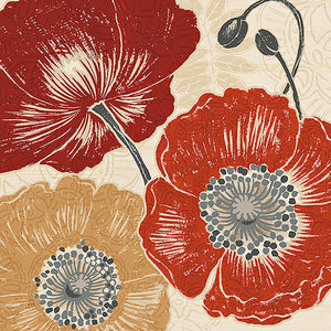A Poppys Touch II by Daphne Brissonet
