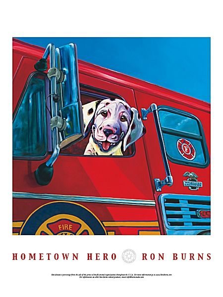 Hometown Hero by Ron Burns