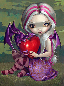 Valentine Dragon by Jasmine Becket-Griffith