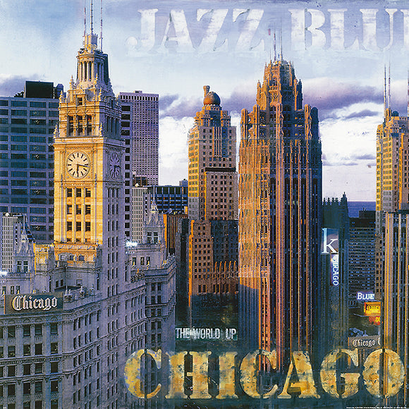 Jazz Blues I (microfiber) Chicago by John Clarke