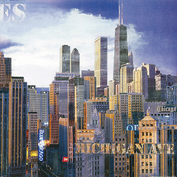 Jazz Blues II (microfiber) Chicago by John Clarke