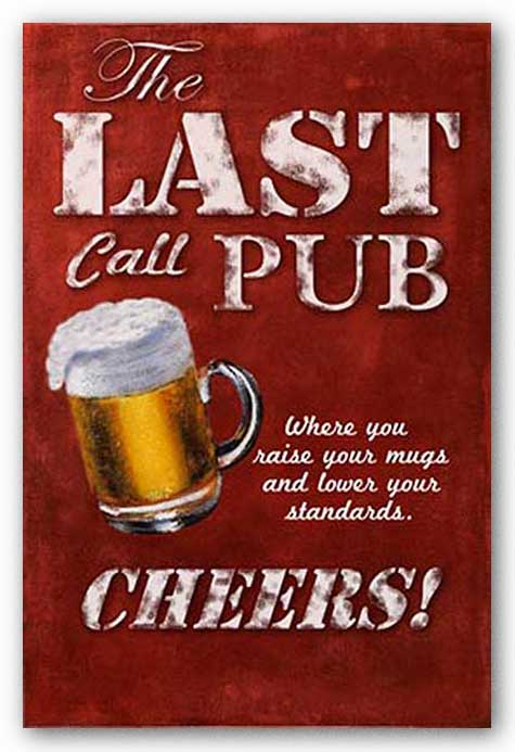 The Last Call Pub - CHEERS by Downs