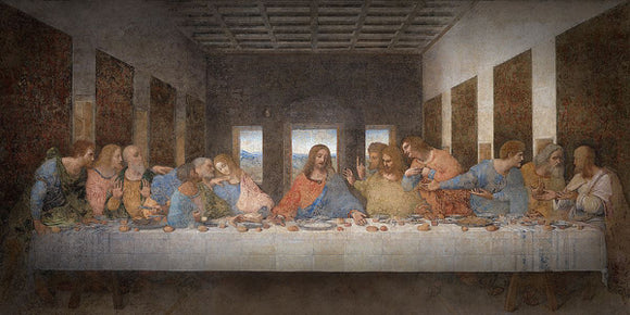 The Last Supper by Leonardo Da Vinci