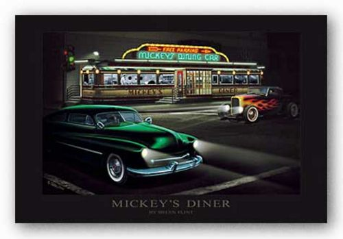 Mickey's Diner by Helen Flint