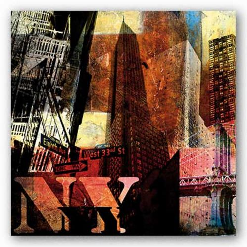 New York by Nelson Figueredo