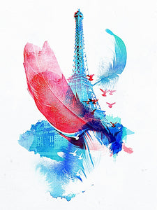 Pigeons of Paris by Robert Farkas