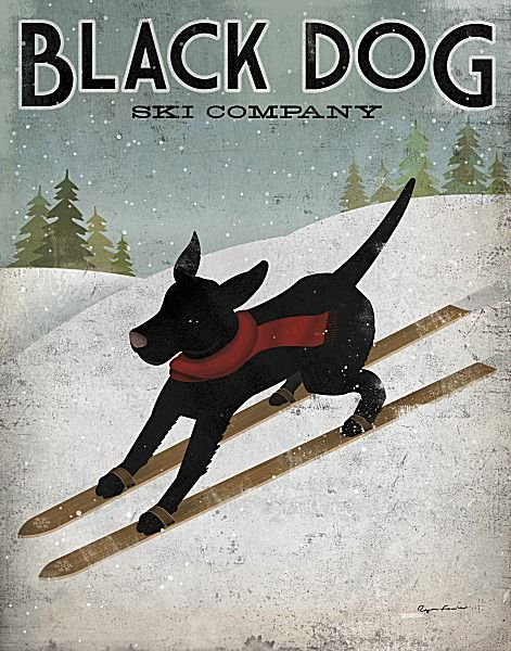 Black Dog Ski Co. by Ryan Fowler