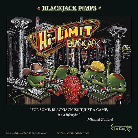 Black Jack Pimps by Michael Godard