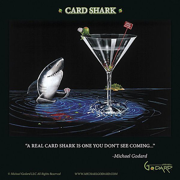 Card Shark by Michael Godard