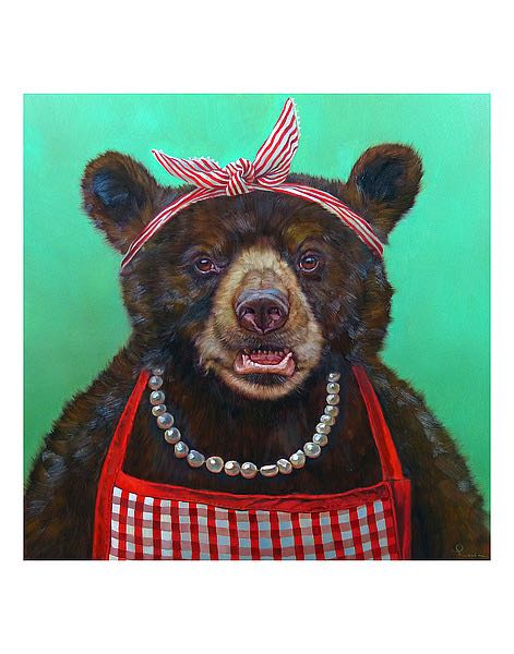 Mama Bear by Lucia Heffernan