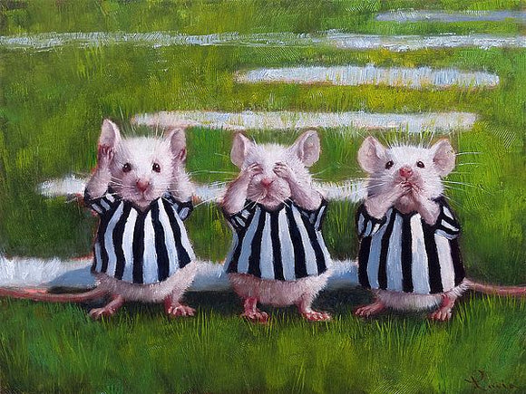 Three Blind Mice by Lucia Heffernan