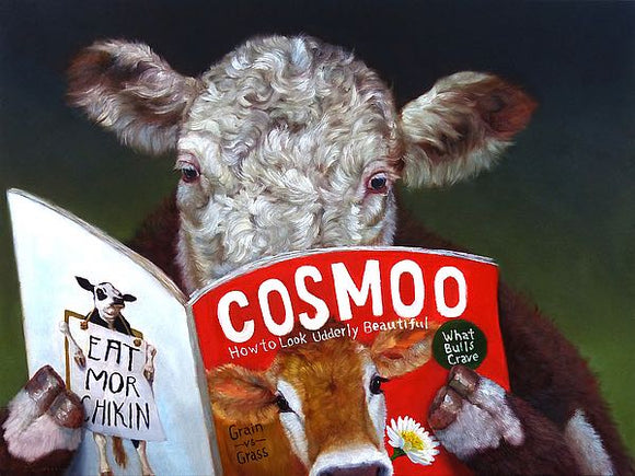 Cow Tips by Lucia Heffernan