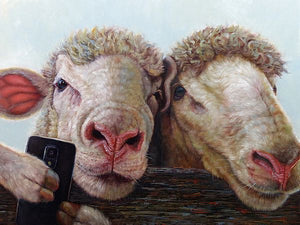 Selfie by Lucia Heffernan