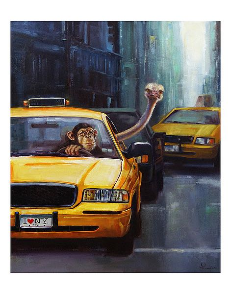 Rush Hour by Lucia Heffernan
