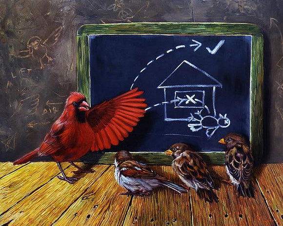 Flight School by Lucia Heffernan