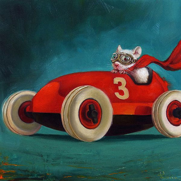 Speed Racer by Lucia Heffernan