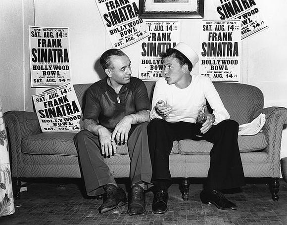 Frank Sinatra, August 14, 1943, at the Hollywood Bowl by Hollywood Historic Photos