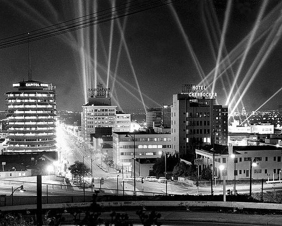 Hollywood Premiere of the Cinerama Dome, 1963 by Hollywood Historic Photos
