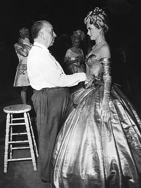 Alfred Hitchcock, Grace Kelly 'To Catch A Thief'  by Hollywood Historic Photos