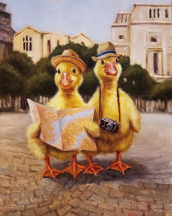 Tourists by Lucia Heffernan