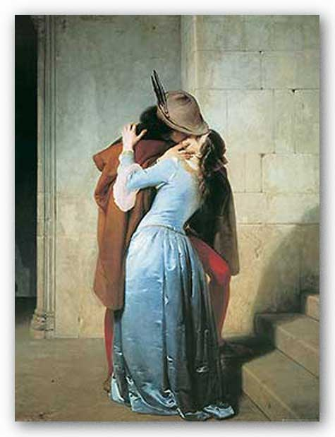 Il Bacio by Francesco Hayez