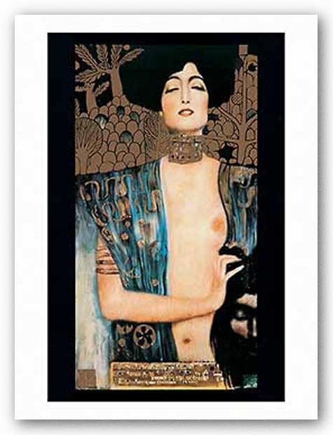 Judith (Metallic) by Gustav Klimt