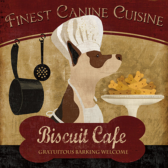 Biscuit Cafe  by Conrad Knutsen