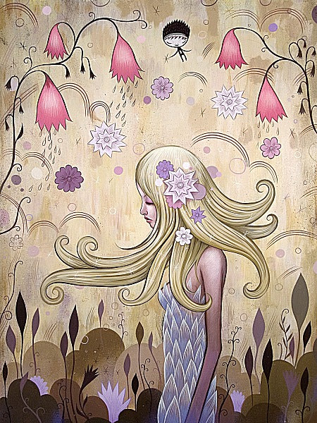 Garden of Sleeping Flowers II by Jeremiah Ketner