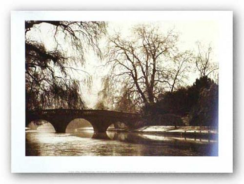 Clare Bridge, Cambridge by Derek Langley